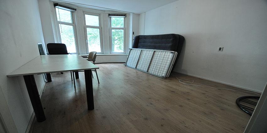 Studenten kamers te huur aan de Beukelsdijk in Rotterdam Centrum.