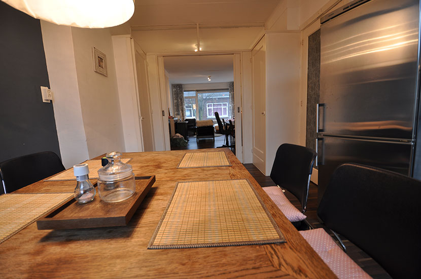 Vier kamer  appartement te huur aangeboden op de  Markerstraat in Rotterdam Zuid.